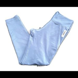 Adidas slate blue climalite leggings. SZ: M